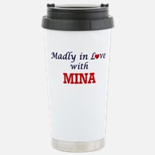 Madly in Love with Mina Stainless Steel Travel Mug