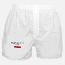 Madly in Love with Mina Boxer Shorts