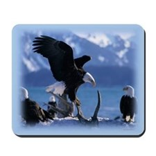 Bald Eagles Mousepad
