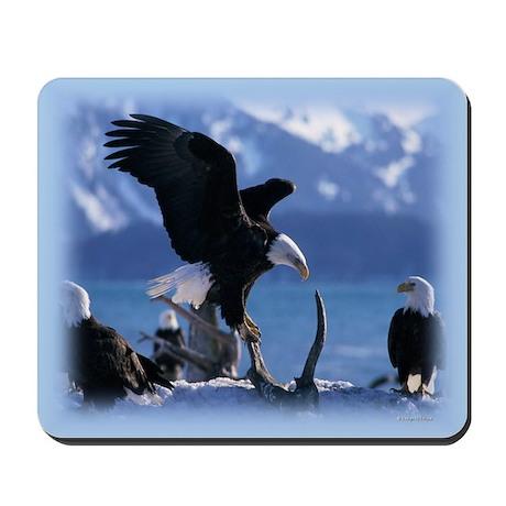 Bald Eagles Mousepad