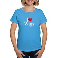 """I Love (Heart) Wigs"" Tee"