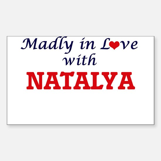 Madly in Love with Natalya Decal