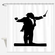 Band Conductor Shower Curtain