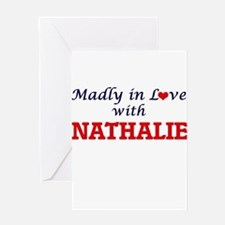 Madly in Love with Nathalie Greeting Cards