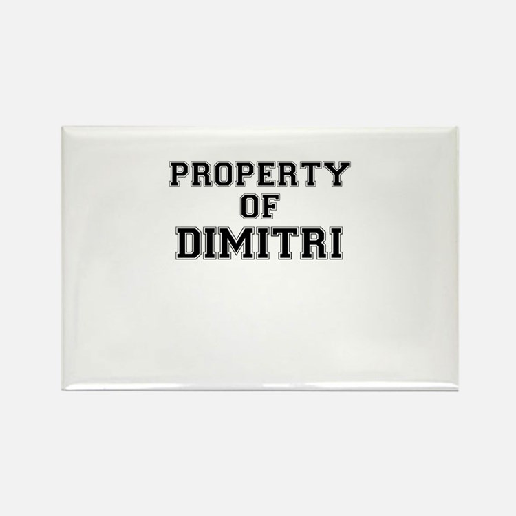 Property of DIMITRI Magnets