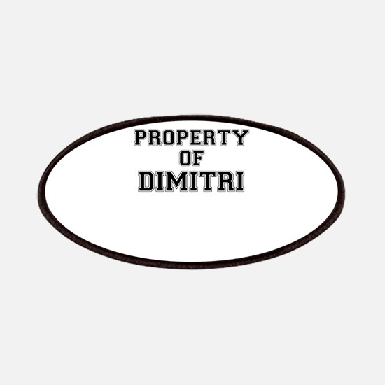 Property of DIMITRI Patch