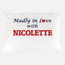 Madly in Love with Nicolette Pillow Case