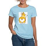 Cartoon corgi Women's Light T-Shirt
