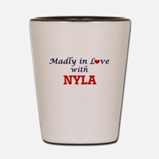 Madly in Love with Nyla Shot Glass