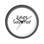 Future Governor Wall Clock