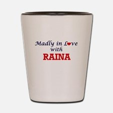 Madly in Love with Raina Shot Glass