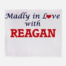 Madly in Love with Reagan Throw Blanket