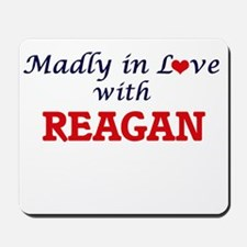 Madly in Love with Reagan Mousepad