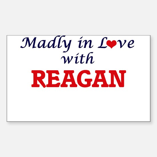 Madly in Love with Reagan Decal