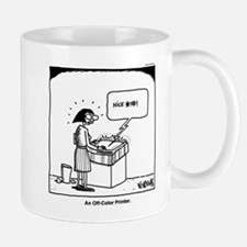 Off-Color Printer Mug