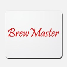 Brew Master Red Mousepad