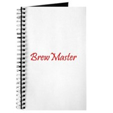 Brew Master Red Journal
