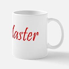 Brew Master Red Mug