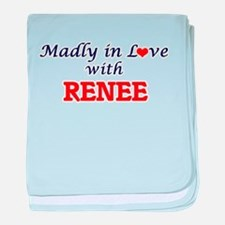 Madly in Love with Renee baby blanket