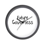 Future Governess Wall Clock