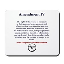 Oh Well, Wasn't Using Civil Liberties Mousepad