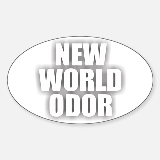 New World Odor Decal