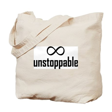 Infinity, Unstoppable Tote Bag