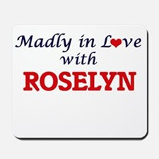 Madly in Love with Roselyn Mousepad