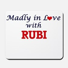 Madly in Love with Rubi Mousepad