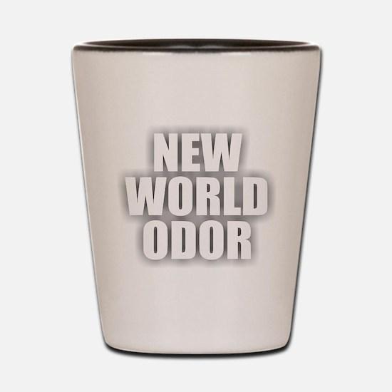 New World Odor Shot Glass