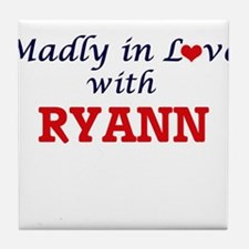 Madly in Love with Ryann Tile Coaster