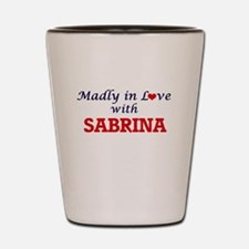 Madly in Love with Sabrina Shot Glass