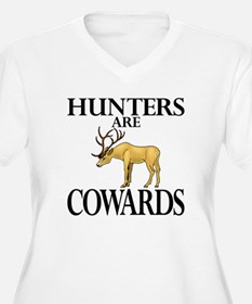 Hunters are cowards T-Shirt