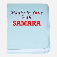 Madly in Love with Samara baby blanket