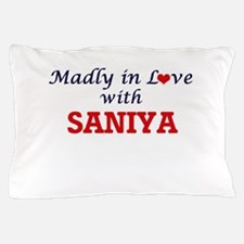 Madly in Love with Saniya Pillow Case