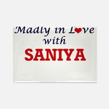 Madly in Love with Saniya Magnets