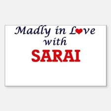 Madly in Love with Sarai Decal