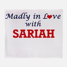 Madly in Love with Sariah Throw Blanket