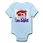 Dolphin Infant Creeper