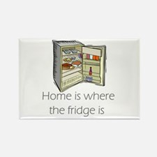 The Fridge Rectangle Magnet