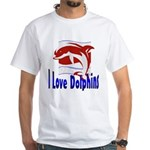 Dolphin White T-Shirt