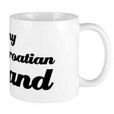 I love my Croatian Husband Small Mug