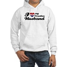 I love my Croatian Husband Hoodie Sweatshirt