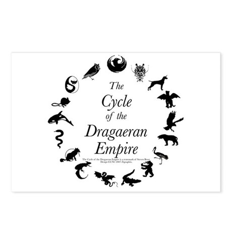 Dragaeran Cycle Postcards (Package of 8)
