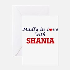 Madly in Love with Shania Greeting Cards