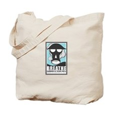 The Mighty Green Bee Tote Bag