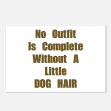 A Little Dog Hair Postcards (Package of 8)