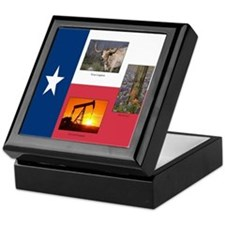 Texas Themed Keepsake Box