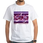 Peace Unisex White T-Shirt