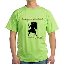 Hit with Sticks T-Shirt